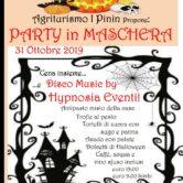 Halloween in maschera @ Agriturismo I Pinin