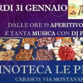 Aperitivo a buffet & Dj Set @ Vinoteca Le Pinine
